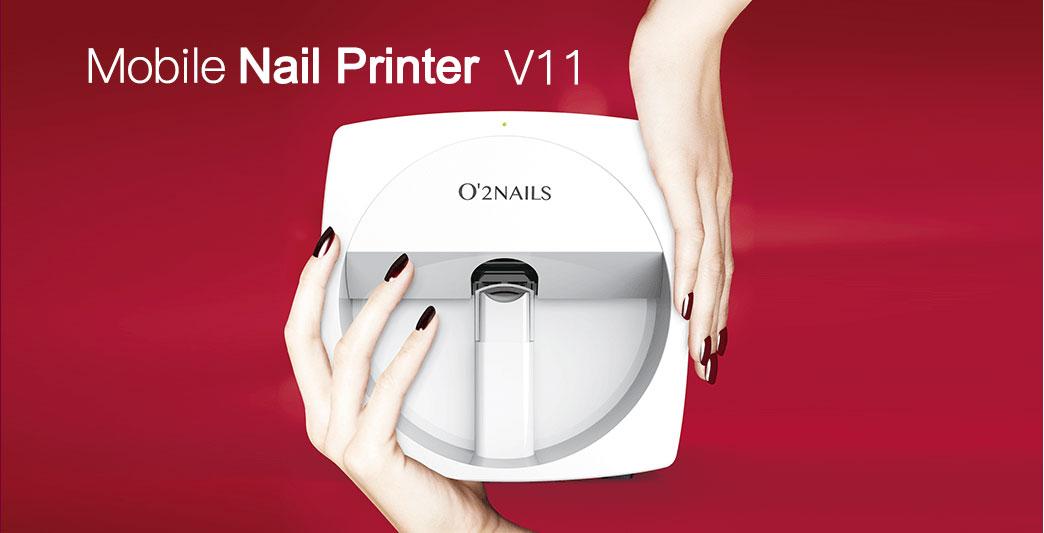 O2Nails Mobile Nail Printer, Digital Nail Printer, Nail Art Printer ...