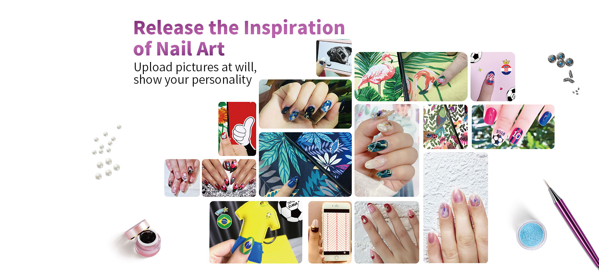release the inspiration of nail art